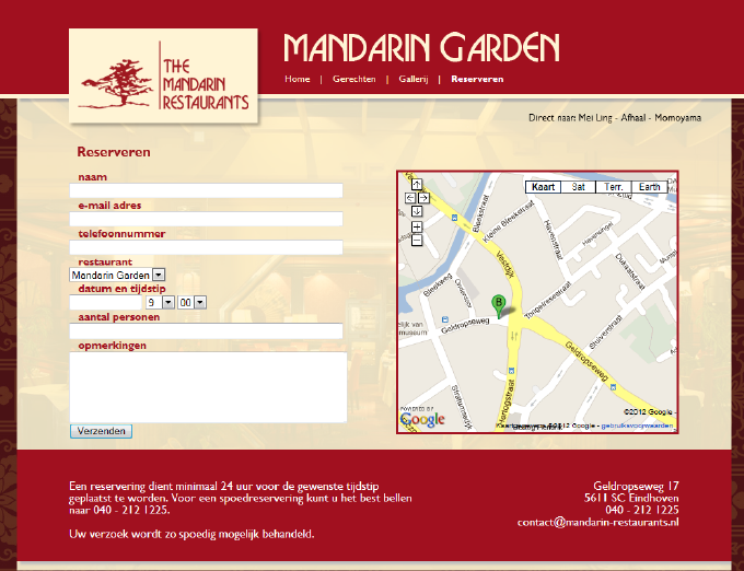 The Mandarin Restaurants